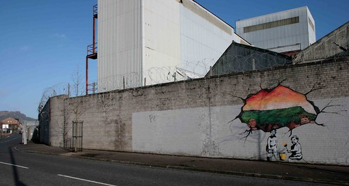 Is this a Banksy on Northumberland St?