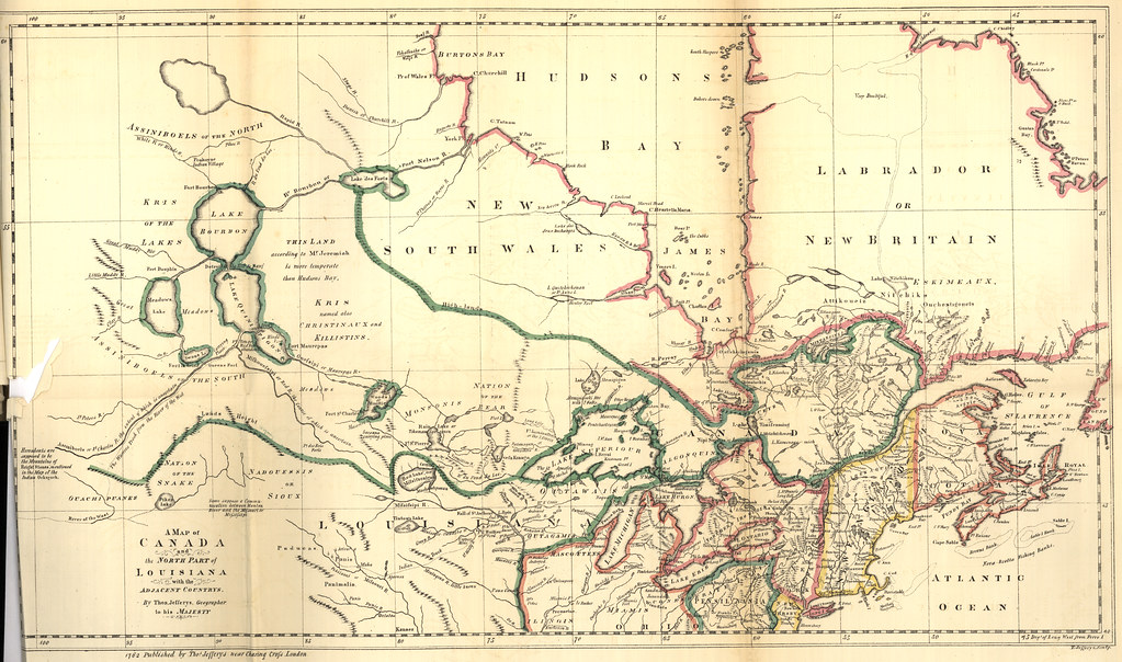 Map Of Canada In 1873.A Map Of Canada And The North Part Of Louisiana With The A Flickr