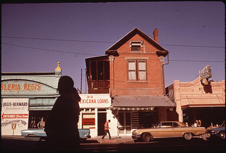 Stanton Street in the Second Ward, the Spanish-Speaking Section, 06/1972