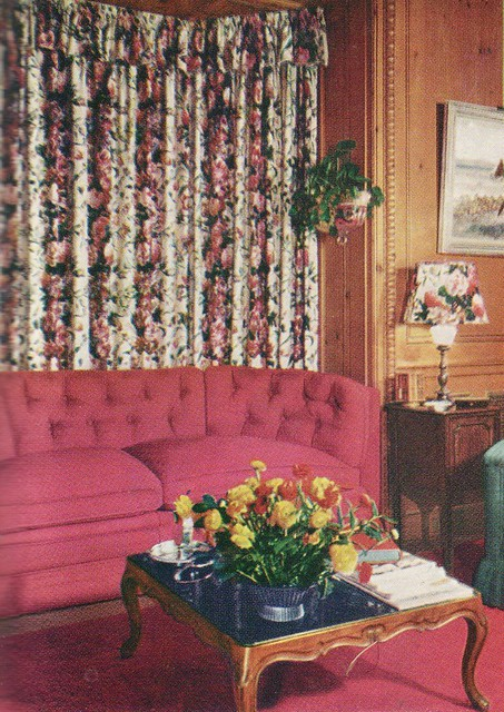 Floral Curtains, 1949