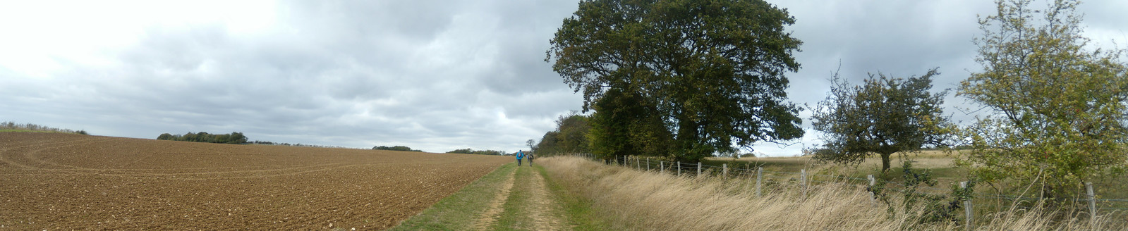 Panorama Sandling to Wye