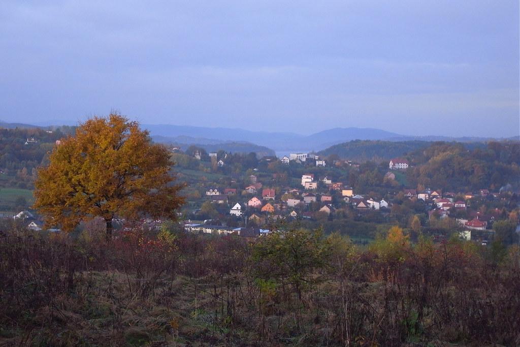 Miasto o poranku / Town in the morning