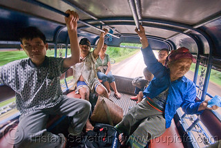 DSC13565 - Travelling in a Sawngthaew (Laos) | by loupiote (Old Skool) pro