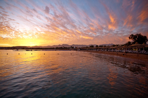Naama Bay sunset | by WomEOS