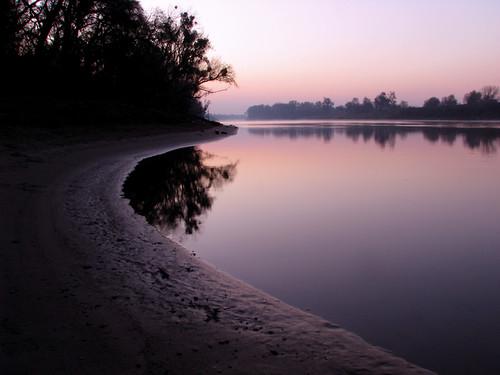 california sunset silhouette sunrise canon river landscape purple fremont sacramento curve s5