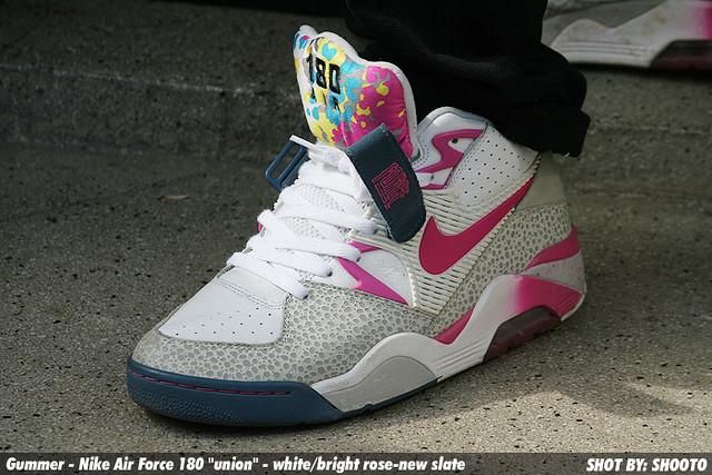 huge discount 2ce71 98aee ... WDYWT Gummer - Nike Air Force 180