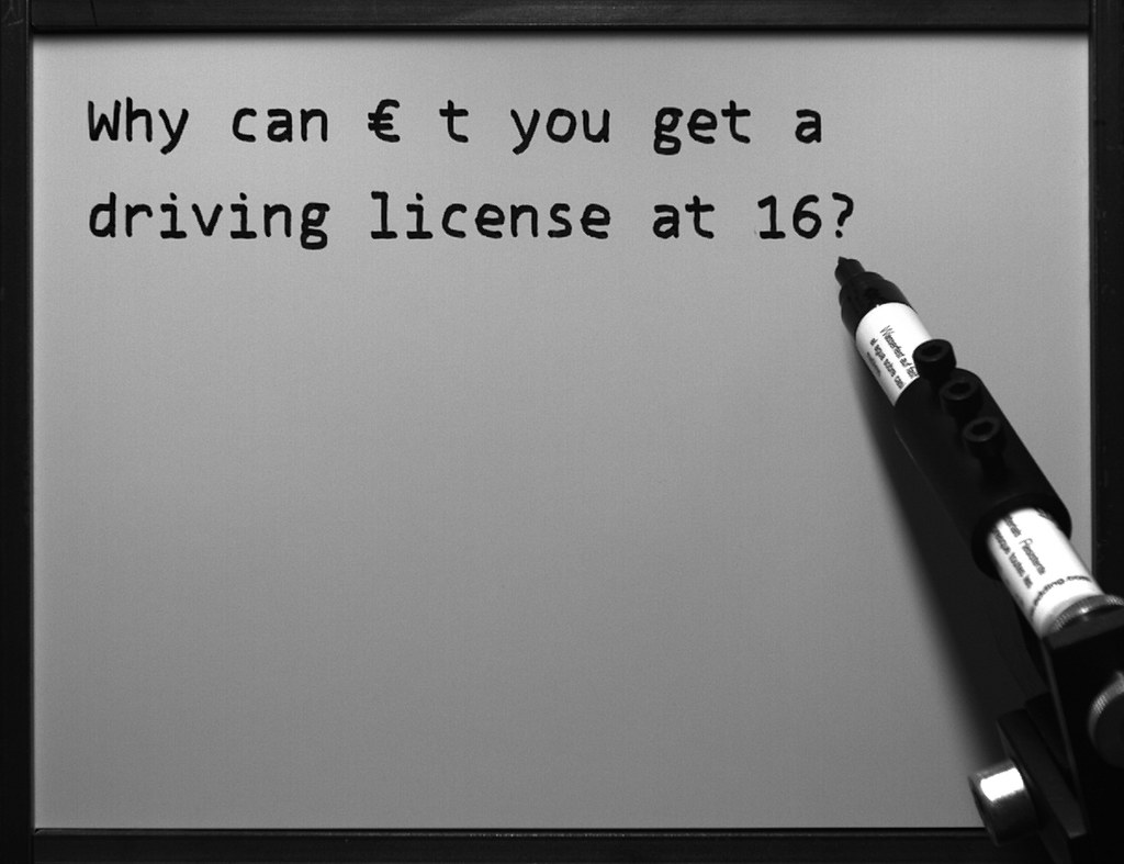 #359 of 15, 000 | Why can't you get a driving license at ...