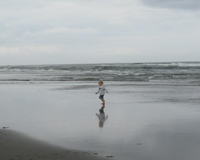 Milo in the Ocean