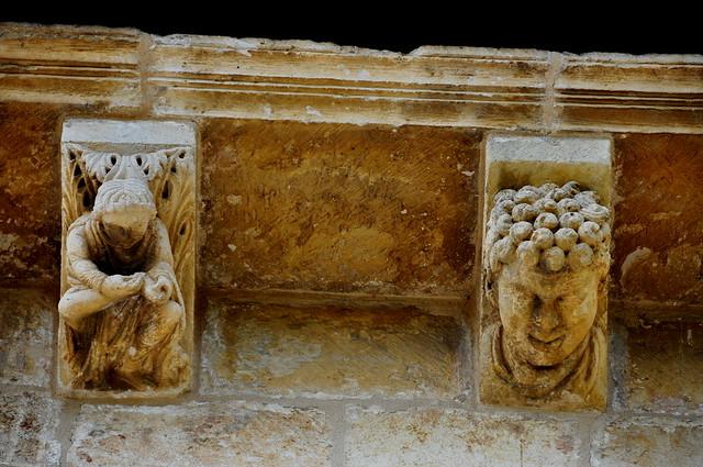 133 - Canecillos exterior - Basílica San Prudencio - Armentia / Vitoria - Gasteiz (Alava) - Spain.