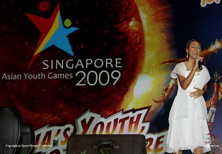 Asian youth games 2009