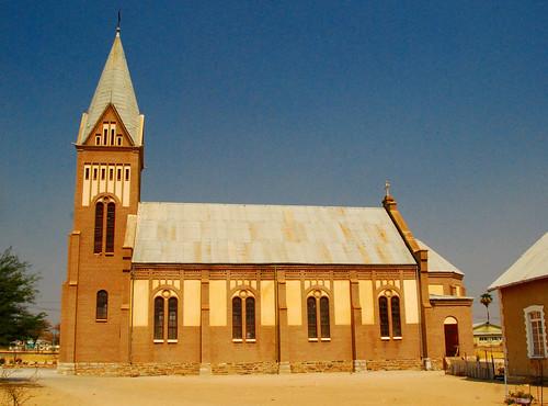 church churches namibia karibib