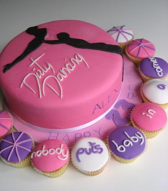 Peachy Dirty Dancing Birthday Cake Bathbabycakes Com Flickr Birthday Cards Printable Inklcafe Filternl