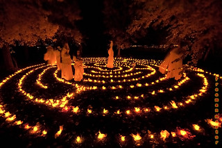 NTP Candle Labyrinth #3 | by Freeman Mester