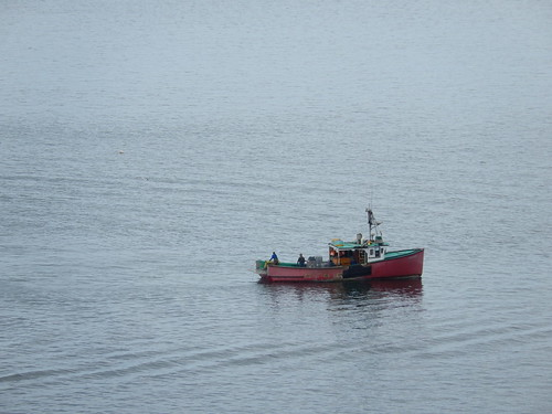 Vissersboot vanaf Partridge Island