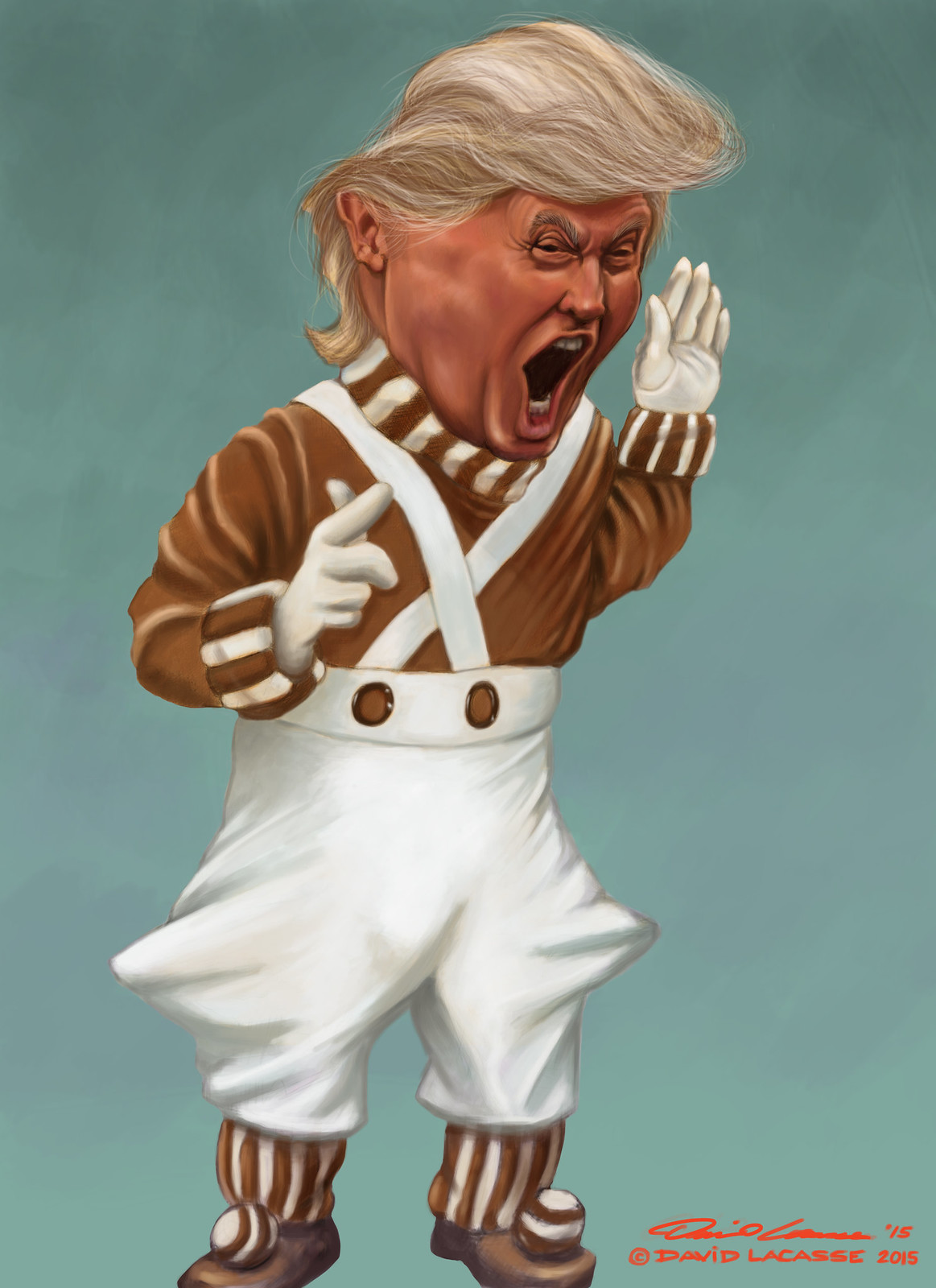 Donald Trump - Angry Oompa Loompa | by David Lacasse