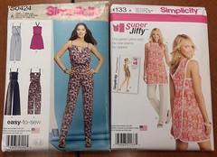 Simplicity Pattern S0424 and 1133