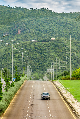 morning pakistan green car clouds sunrise underpass dawn asia day traffic cloudy july overcast sunny hills rainy roads hilly islamabad 2015 ramzan margallahills bluearea xainsheikh xainsheikhphotography 1000likes rhdrs