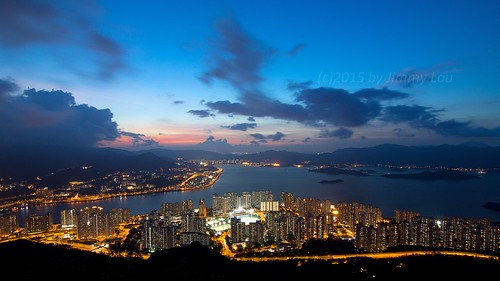 sunset clouds landscape hongkong lights sony tokina bluehour 香港 nationalgeographic a77 maonshan 馬鞍山 吊手岩 tiushaungam sonyphotographing cloudsstormssunsetssunrises