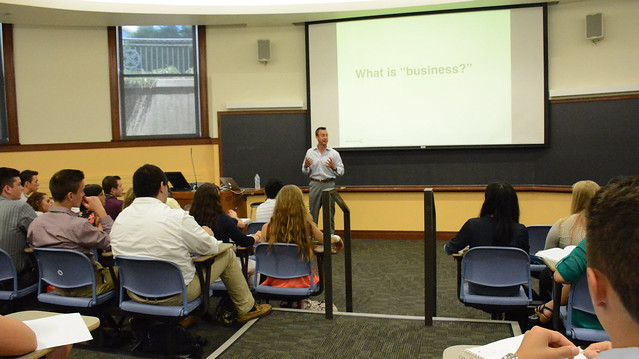 NSLC Business: Introduction to Business with Professor Wortmann July 27, 2015