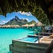 Having a Dip in the Pool in Bora Bora by Trey Ratcliff