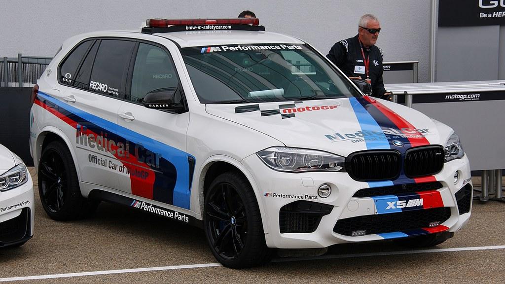 Motogp Sachsenring 2015 Bmw X5 M Medical Car