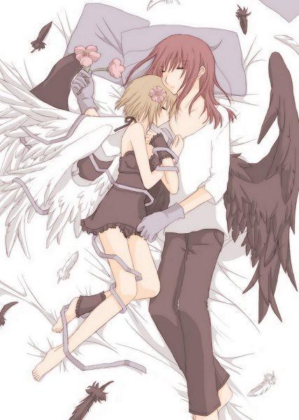 Couples together anime sleeping Anime Couple