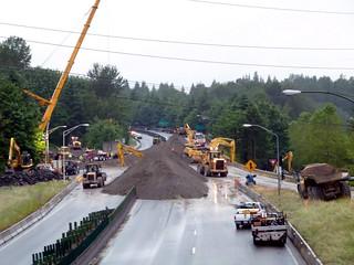 SR 520 Eastside Project June 2011 Closure | by WSDOT