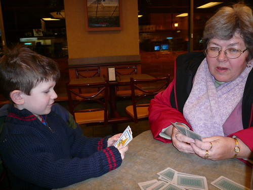 "Geoffrey and Nanny ""Go Fish!"" 