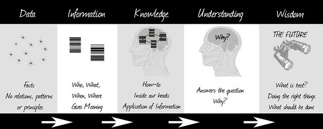 ... From Data to Wisdom - by Nick J Webb
