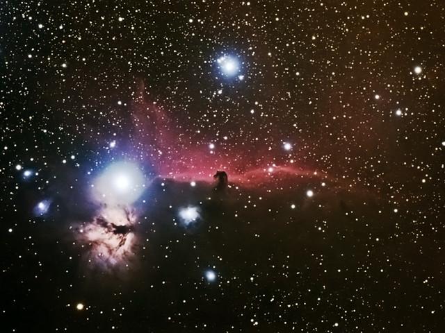 Nébuleuse de la Tête de Cheval (IC434)