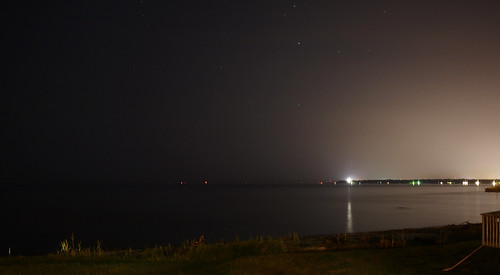 sky water mobile night stars bay iso200 alabama gimp olympus clear f28 30s buccaneer ep1 byc 17mm olympusep1
