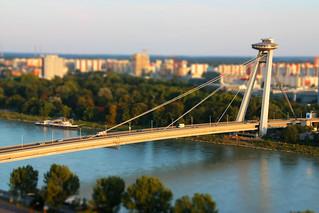 Bratislava - New bridge   by Miroslav Petrasko (hdrshooter.com)