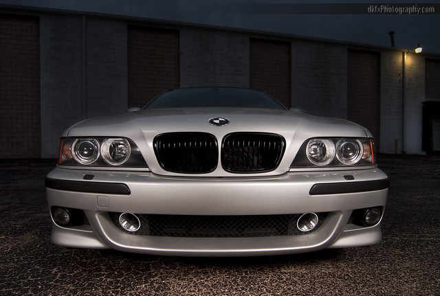 2002 e39 m5 wide angle with AA intakes