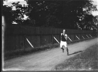 Runner at high school track and field meet 1912 | by Miami U. Libraries - Digital Collections