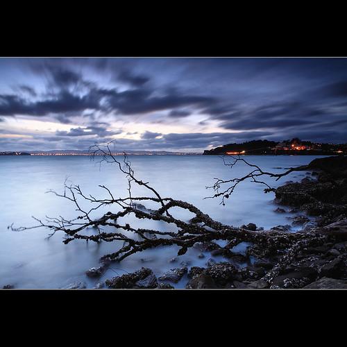 longexposure blue sunset newzealand auckland birkenhead northshore blueish