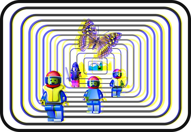 legos 3d blue yellow use the blue yellow glasses like tho flickr. Black Bedroom Furniture Sets. Home Design Ideas