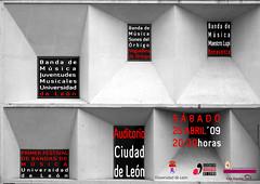 PRIMER FESTIVAL DE BANDAS DE MÚSICA - UNIVERSIDAD DE LEÓN