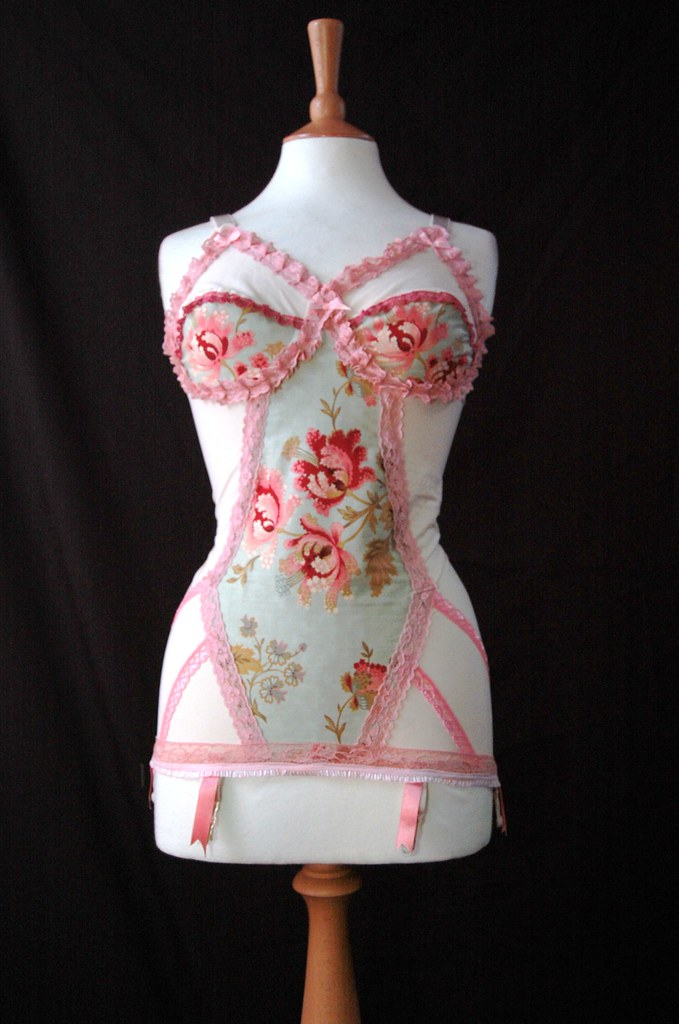 245847d3854 ... Lovechild Boudoir - Customised Empress Woo vintage corselette