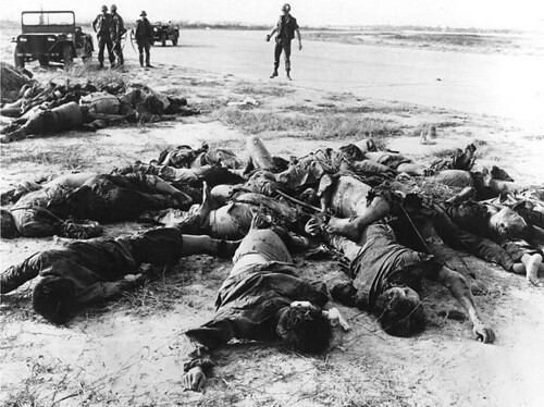 1968 Saigon - VC bodies near Tan Son Nhut Airport | by manhhai