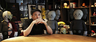 Kaws and his companions | by vinylfre@k