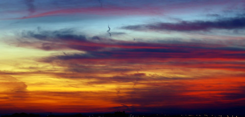 morning blue light red sky orange colors sunrise skyscape dawn nikon colours spectrum canvas nikkor d80 nikond80