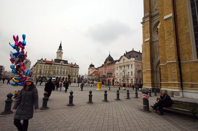 Novi Sad - Liberty Square