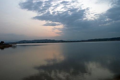 pakistan lake reflection beautiful beauty sunrise perfect sony 200 alpha a200 islamabad naturelovers naturesfinest rawallake rawal anawesomeshot natureselegantshots sonyalpha200 arpics