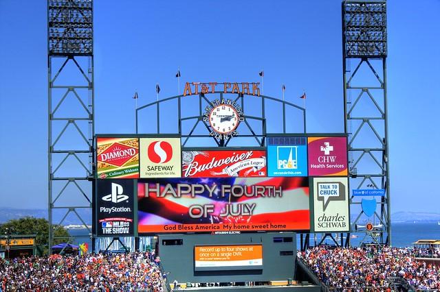 Baseball, Billboards and Advertising