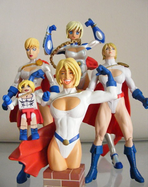 PowerGirl collection