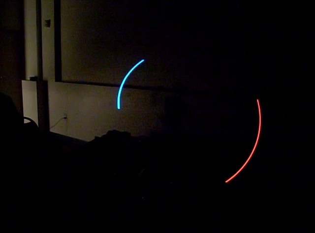 Lux Lucis: Spinning LEDs in motion