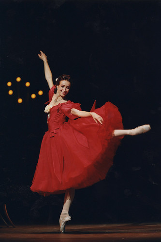 Sylvie Guillem in action.