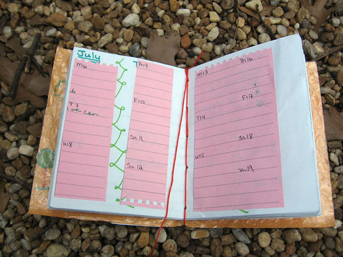 2009 Planner Made from Trash! | by Becky Striepe