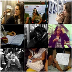 subway habits | by Patricil