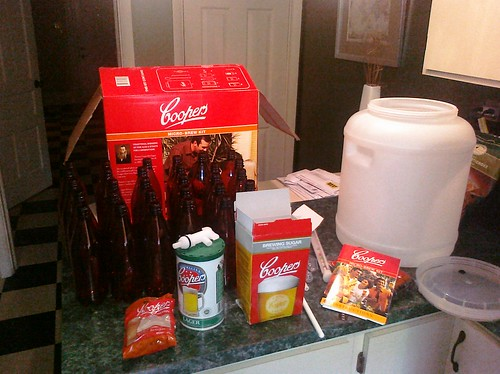 Brewing beer...the kit   by @BobbyBurdette